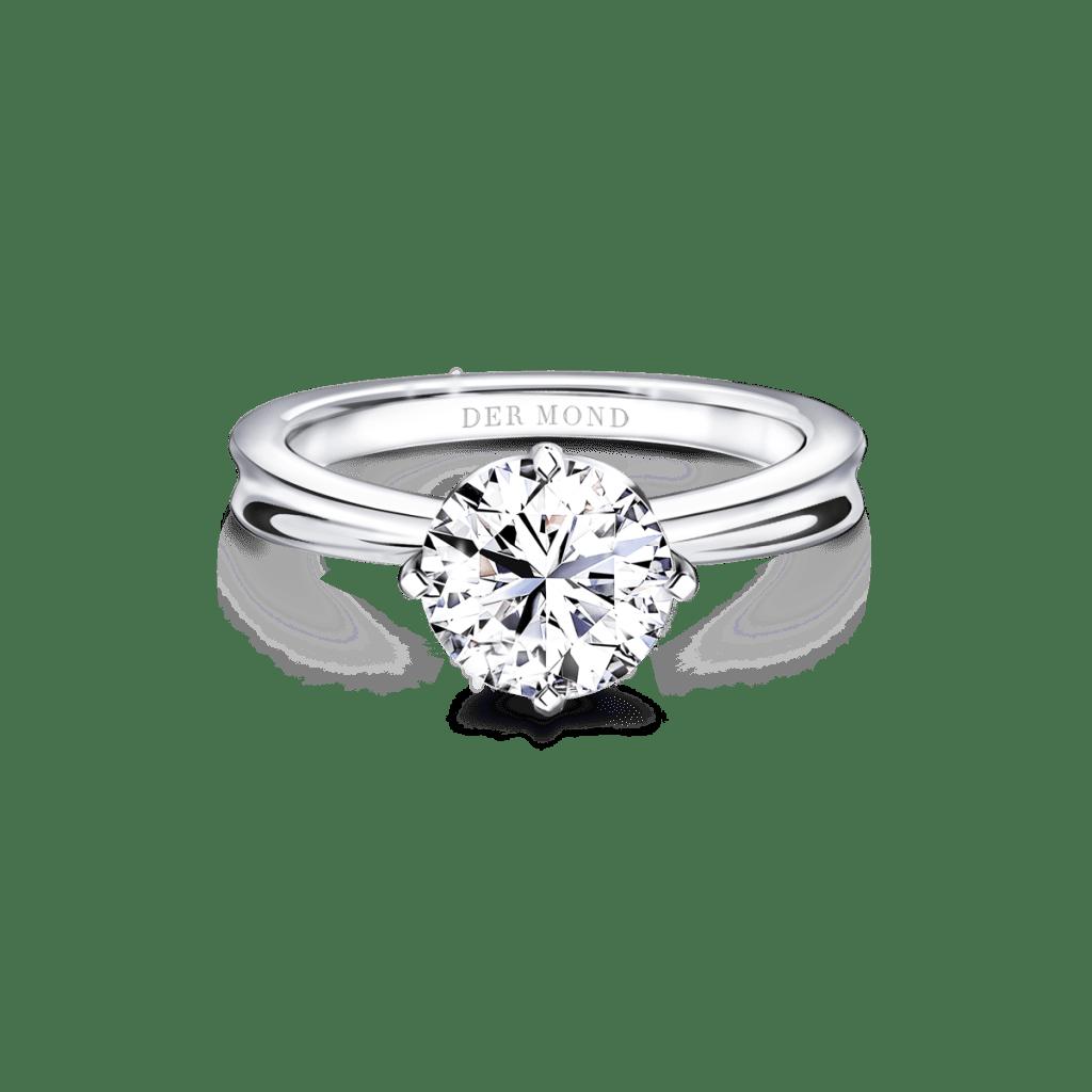 แหวนหมั้น_Ribbon Modern