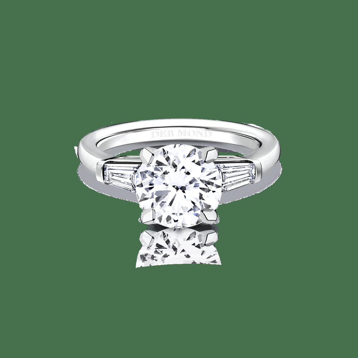 แหวนหมั้นเพชร, แหวนแต่งงาน