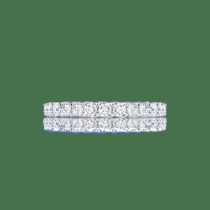 แหวนแต่งงาน Alice 0.025ct. Half