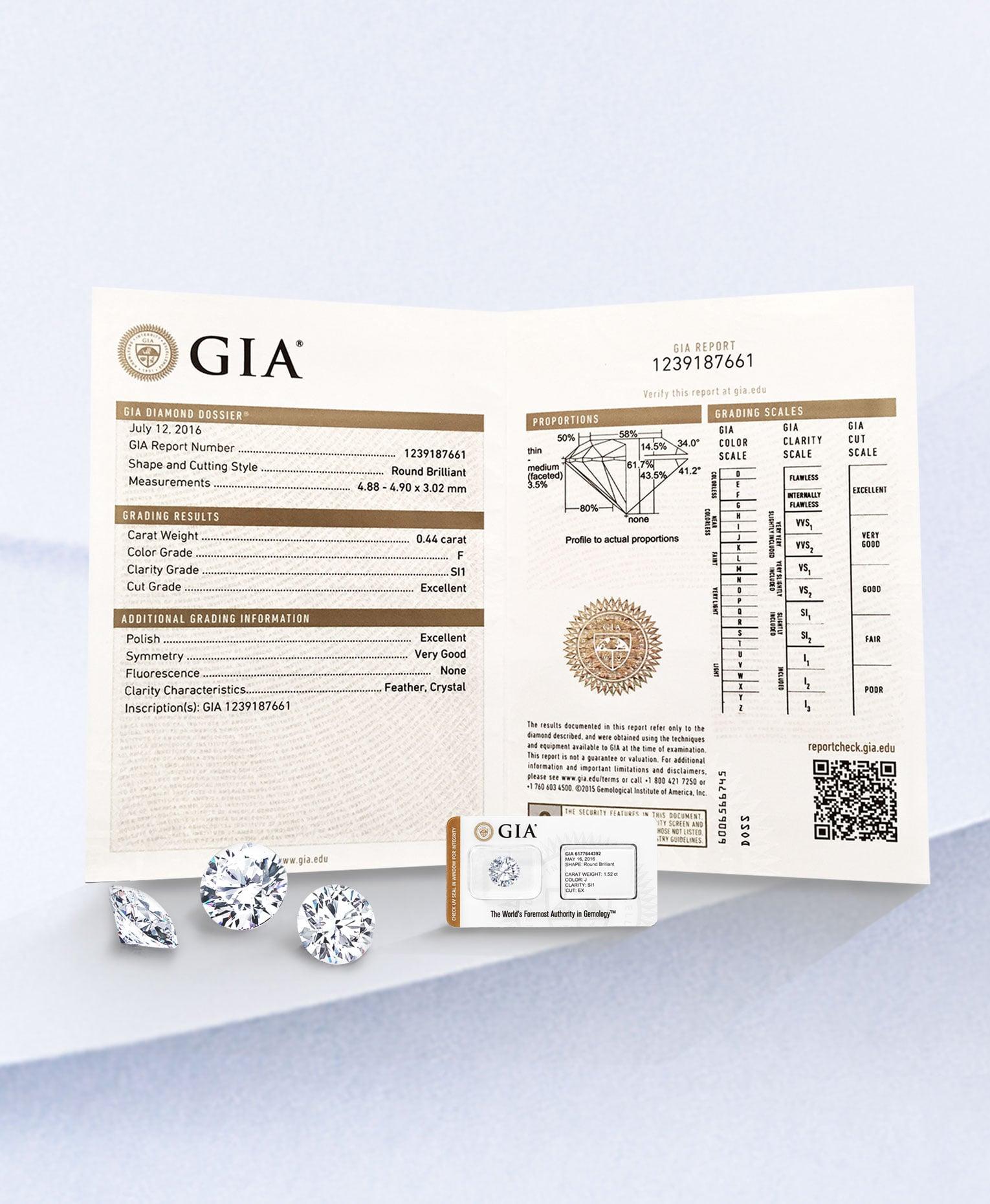 แหวนเพชร, เพชร, DER MOND, ใบเซอร์เพชร, GIA, HRD, ร้านเพชรสยามพารากอน