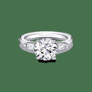 แหวนหมั้น_Taper Side Diamond