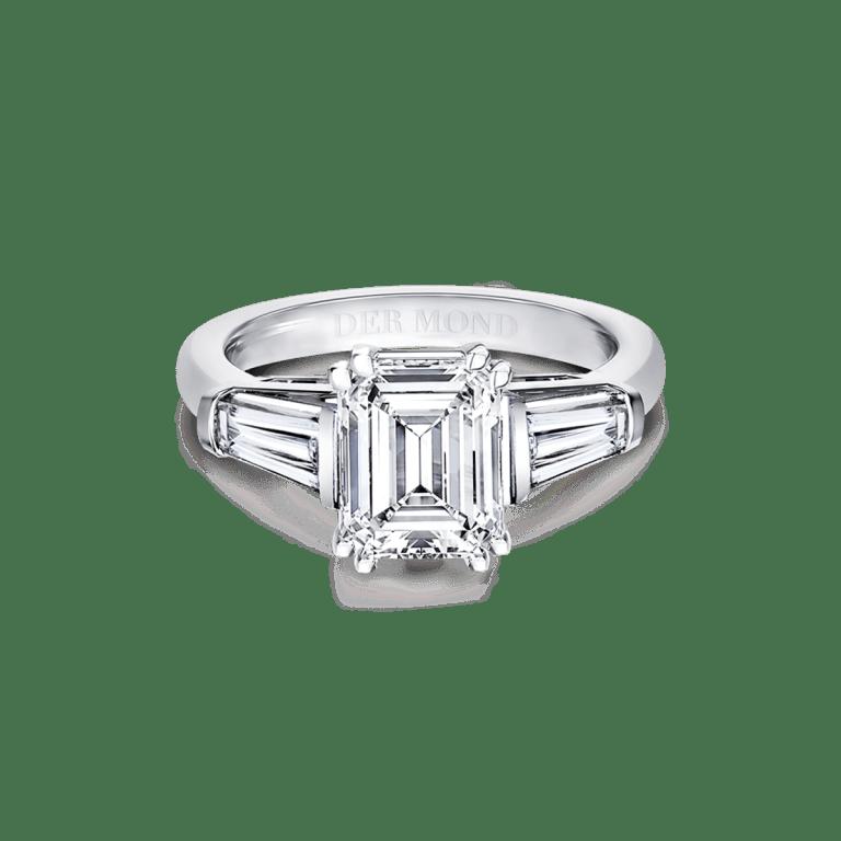 แหวนหมั้นเพชรเอมเมอรัล